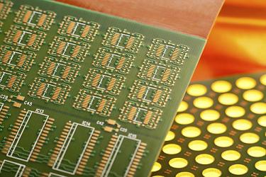 Assembly of Turn Flex Printed Circuit Board used within the Medical Industry
